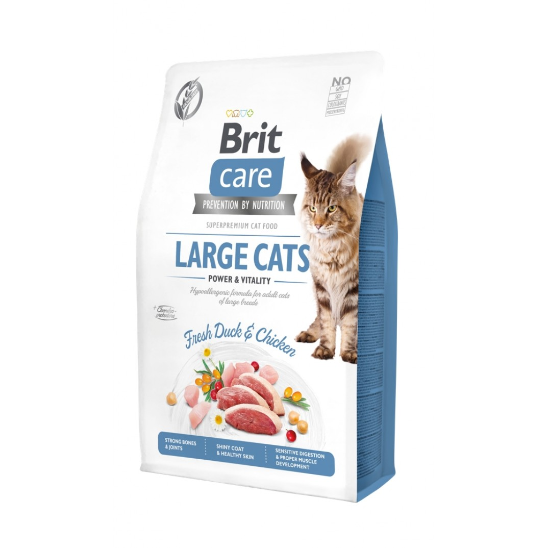 Brit Care Large cats Power & Vitality  400gr