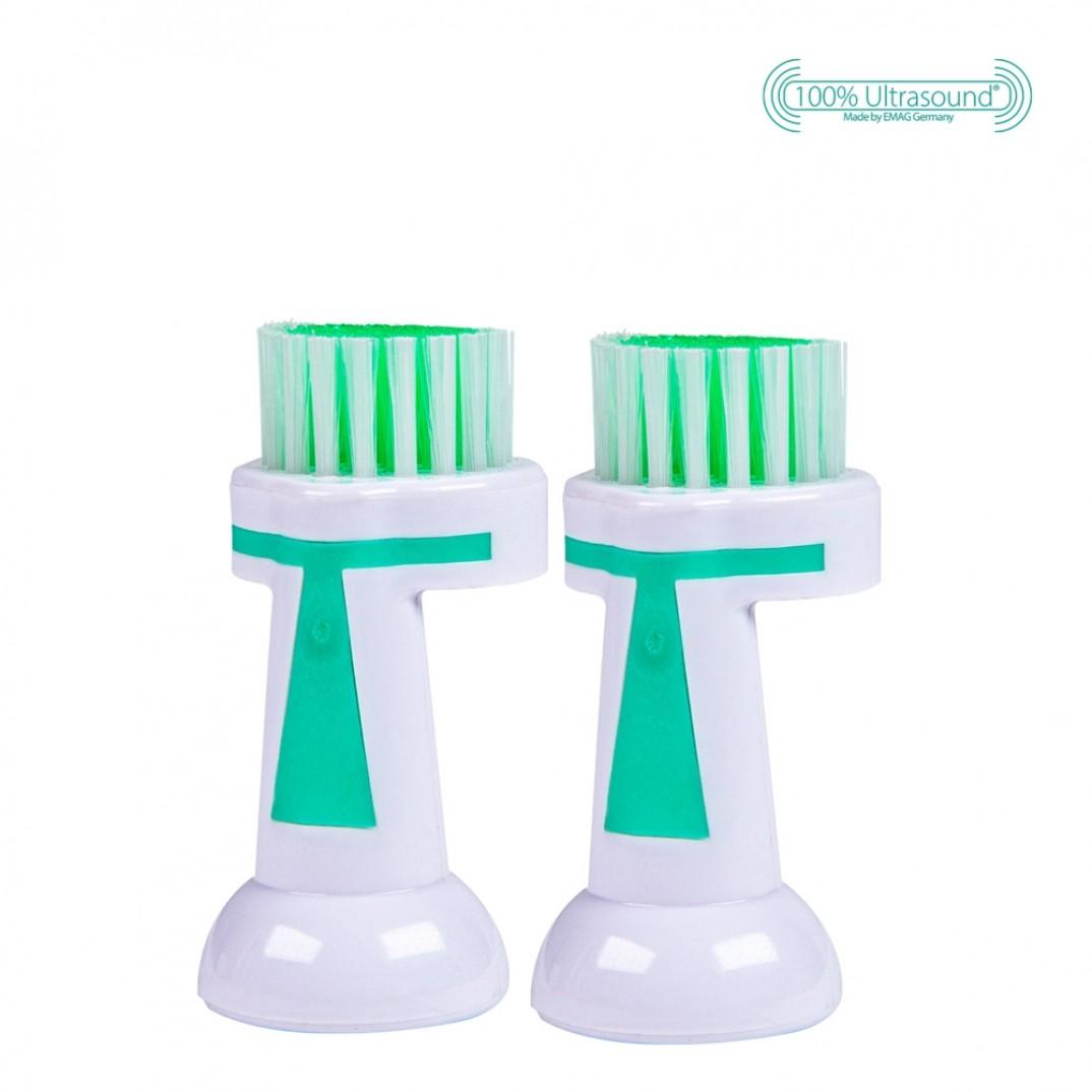 Emmipet massage opzetborstel